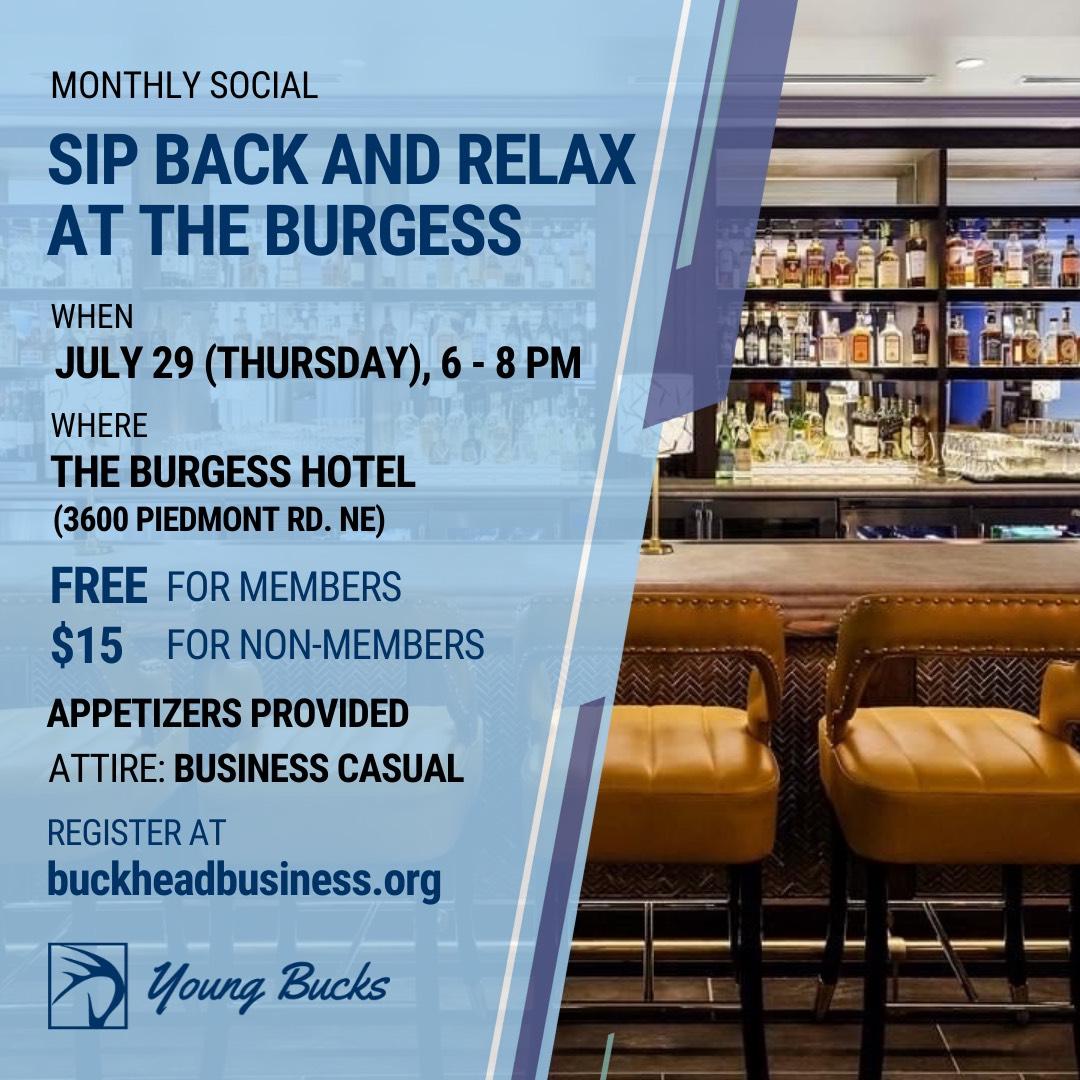 Burgess Hotel Young Bucks BBA